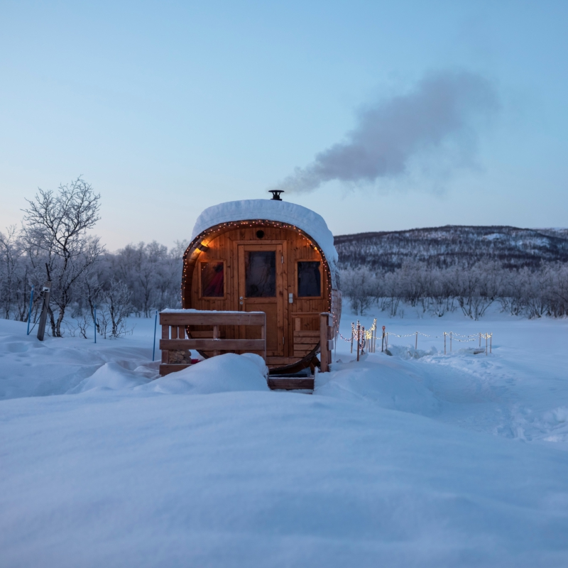 Avantouinti ja sauna