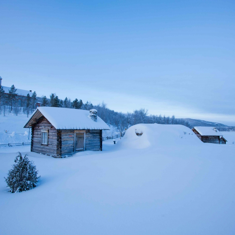 Utsjoki village tour