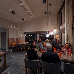 Holiday Village Valle Lomakylä Valle Restaurant Deatnu Utsjoki majoitus hotelli ravintola