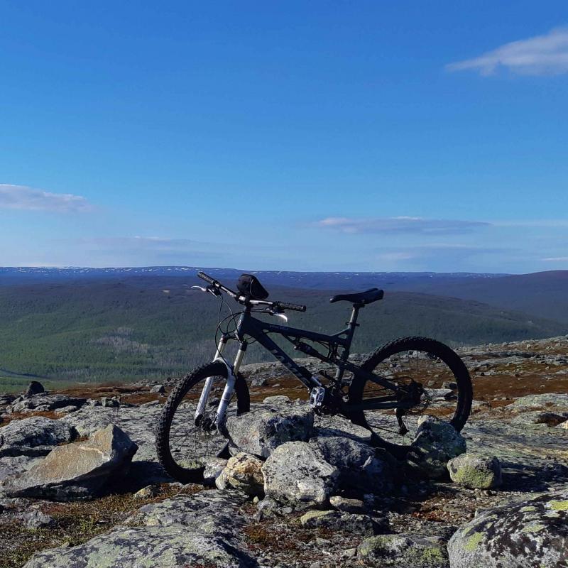 Taste of mountain biking