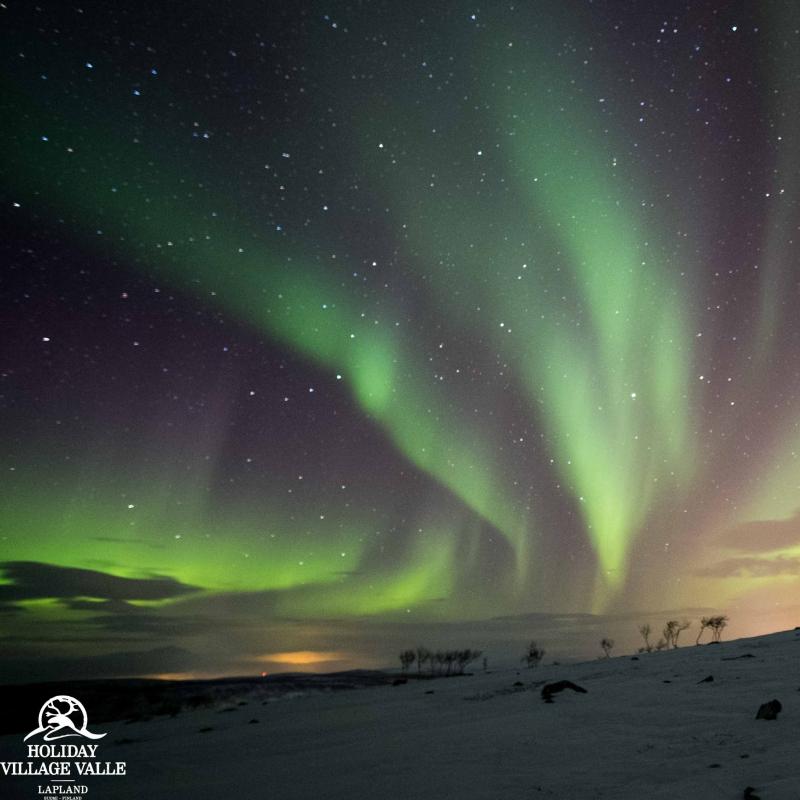 Northern lights in Utsjoki