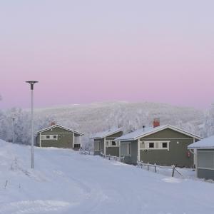 Holiday Village Valle Lomakylä Valle Utsjoki majoitus mökki